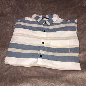 Columbia Striped short sleeve shirt